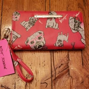 NWT - Betsey Johnson Red Dog Wallet